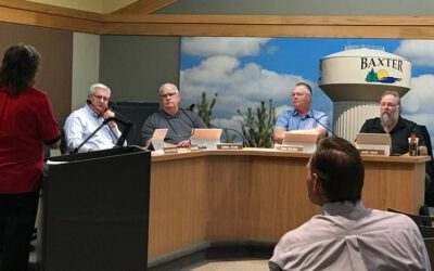 Baxter City Council: Hears presentation on unified fund